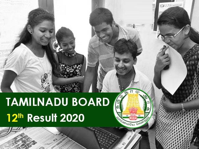 Tamilnadu-Board-12th-Result-2020,  CHECK Tamil Nadu RESULT