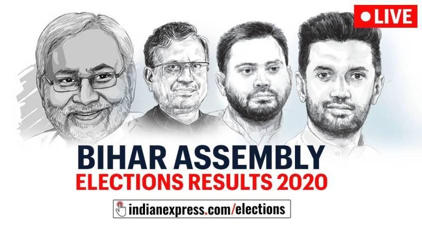 Bihar-election-results, BJP कार्यकर्ताओं का जीतने, nvsp