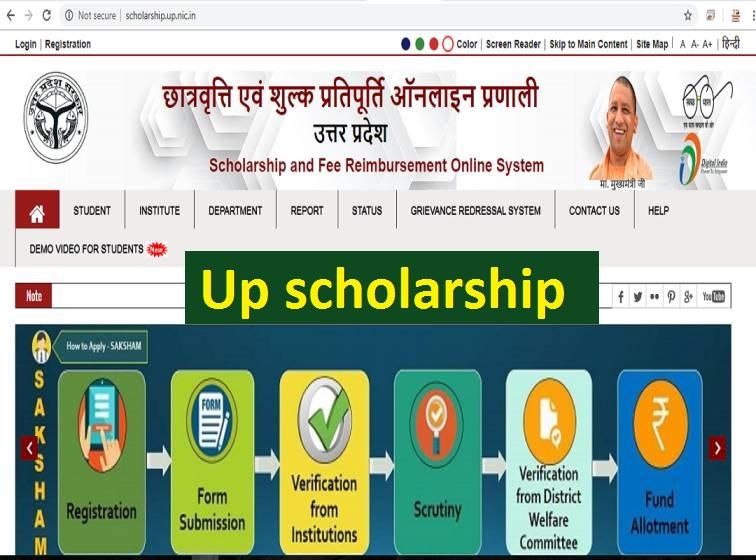Up-scholarship, national scholarship portal
