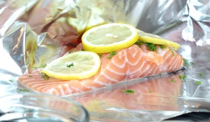 Salmon Foil- Live Young Lifestyle