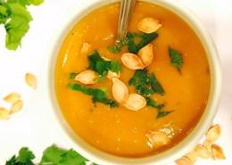 Live young lifestyle- pumpkin soup