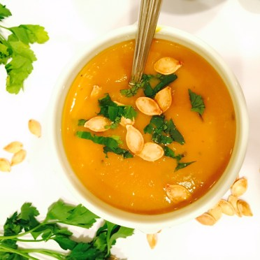 Live young lifestyle- pumpkin soup