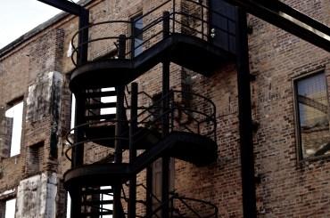 Stairwell in Uptown Columbus, GA