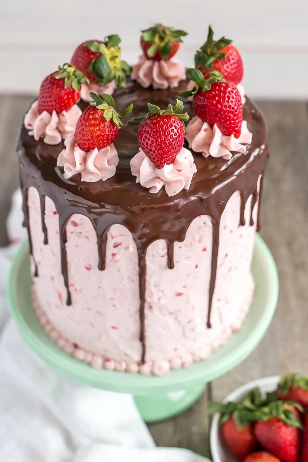 Chocolate Strawberry Cake Liv For Cake