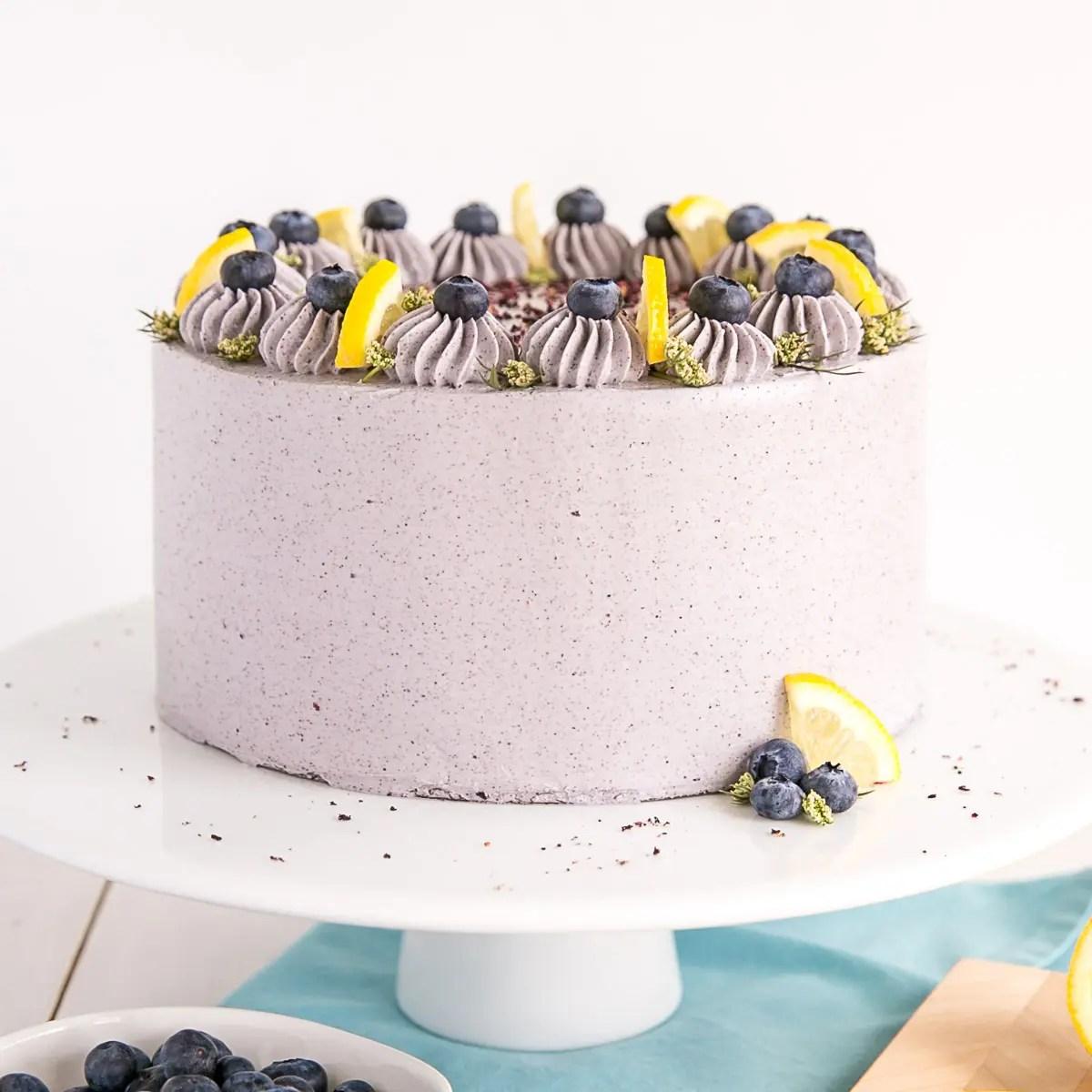 Lemon Wedding Cake 7