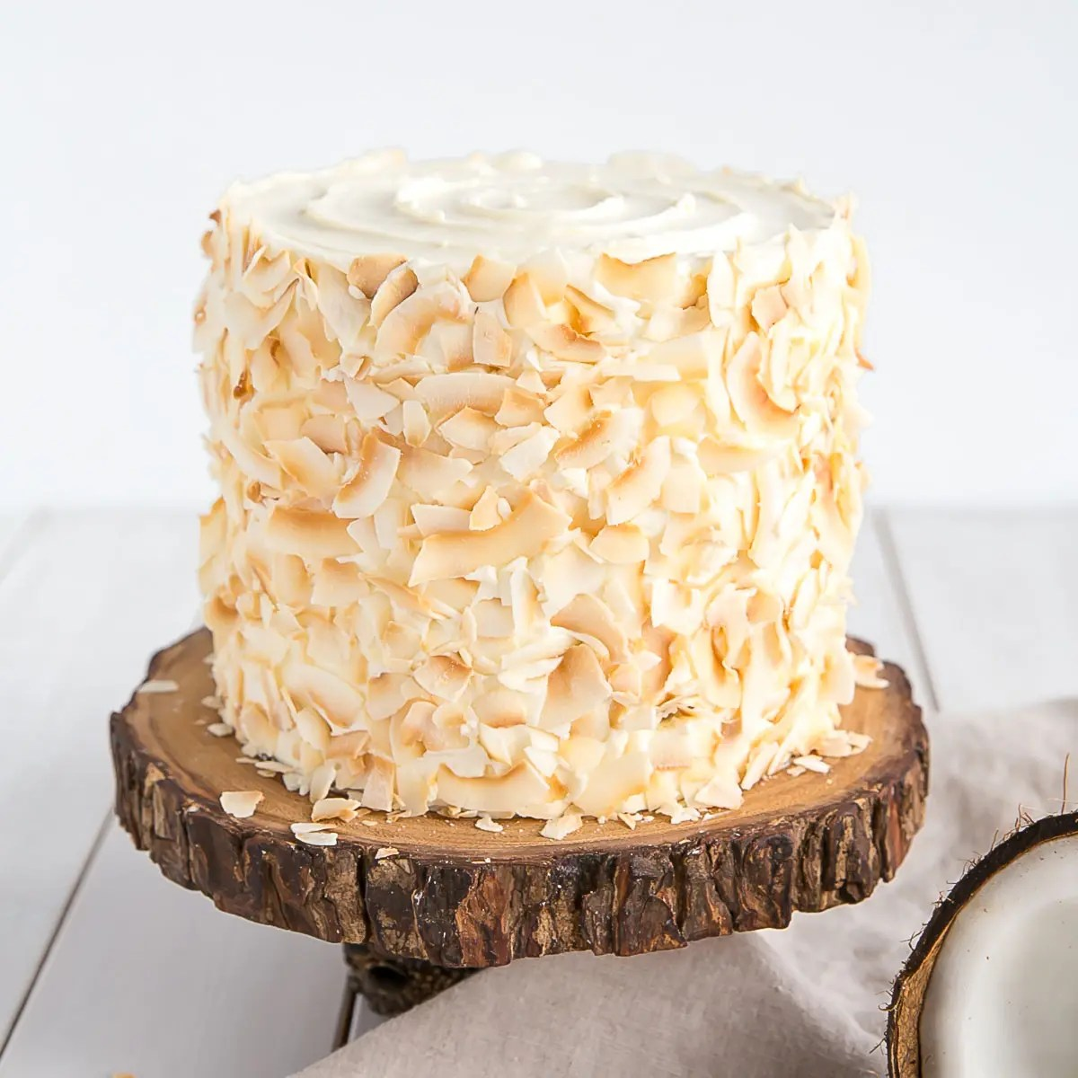 Coconut Cake Liv For Cake