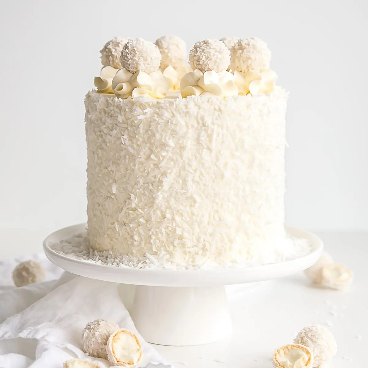 Raffaello Cake Coconut Almond Cake Liv For Cake