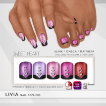 LIVIA Sweet Heart Nails