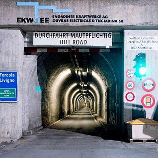 Tunel do Livigna