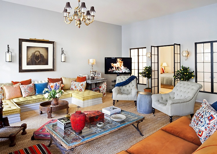 eclectic style new york apartment interior design home interior