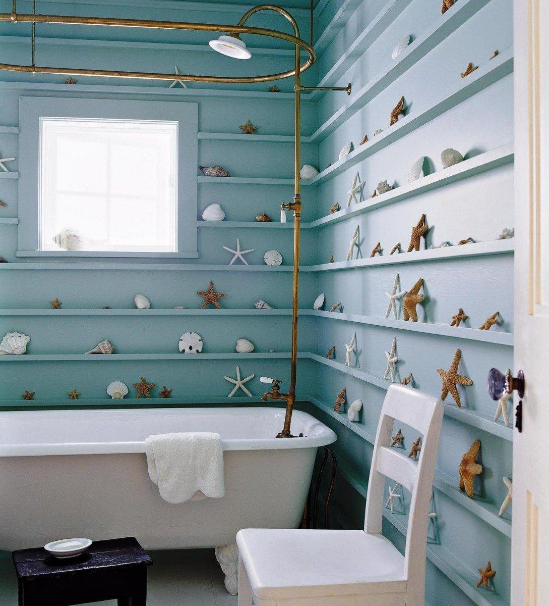 Beach Themed Bathroom Decor