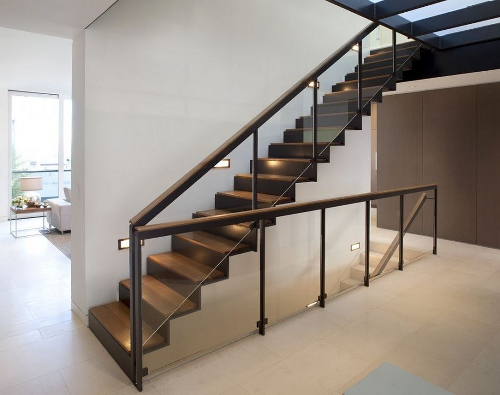 Modern Handrail Designs That Make The Staircase Stand Out | Glass Hand Railing Design | Fancy | Street Railing | Commercial | Outdoor | Glass Etching