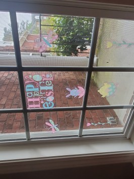 Pic of Easter window clings