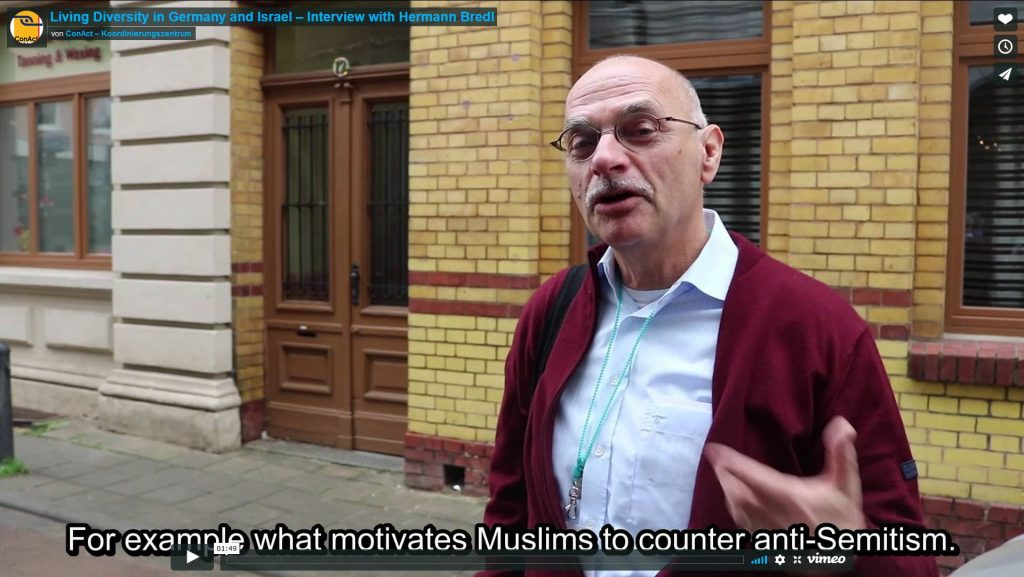 Living Diversity in Germany and Israel – Interview with Hermann Bredl