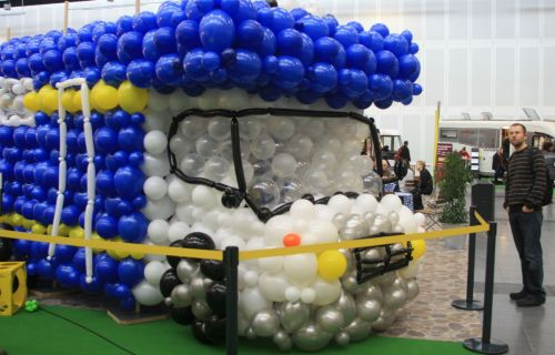 Balloon campervan