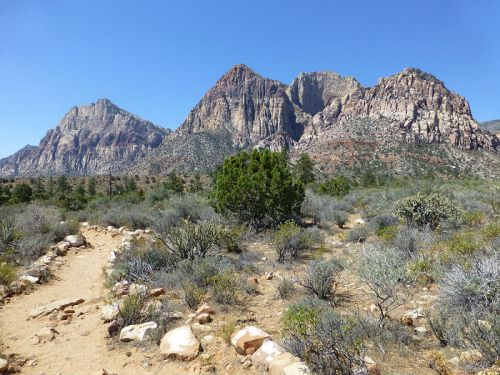 Beginning of the Pine Creek Canyon Trail