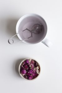 Blossom Tea is a speciality that can be bought at Sardine Shop.