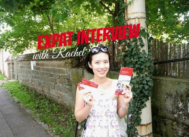 Expat interview with Rachel from rachelsanghee.com