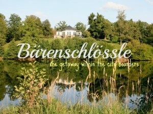 Bärenschlössle Stuttgart - the perfect place for a getaway within the city boarders