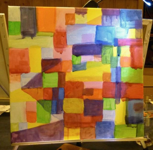 "ArtNight Stuttgart: ""Paint like Paul Klee""."