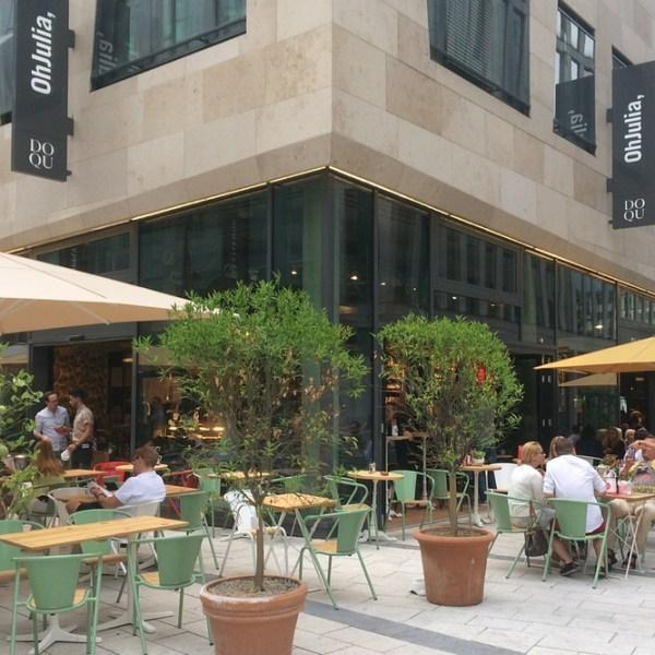 New Italian restaurant at Dorotheenquartier Stuttgart: Oh Julia,
