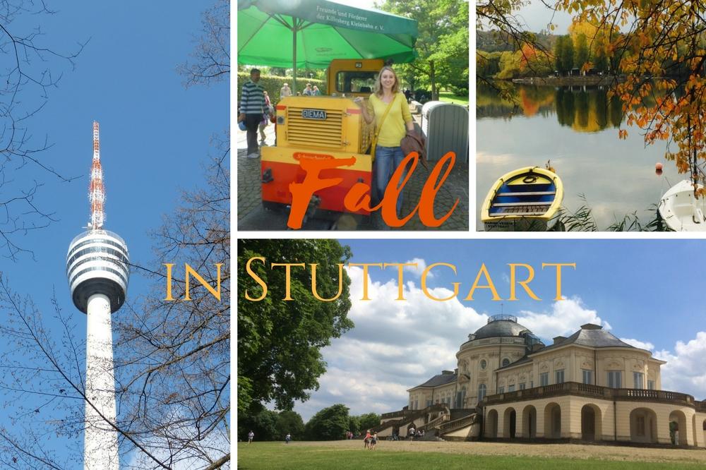 sunny fall day in Stuttgart