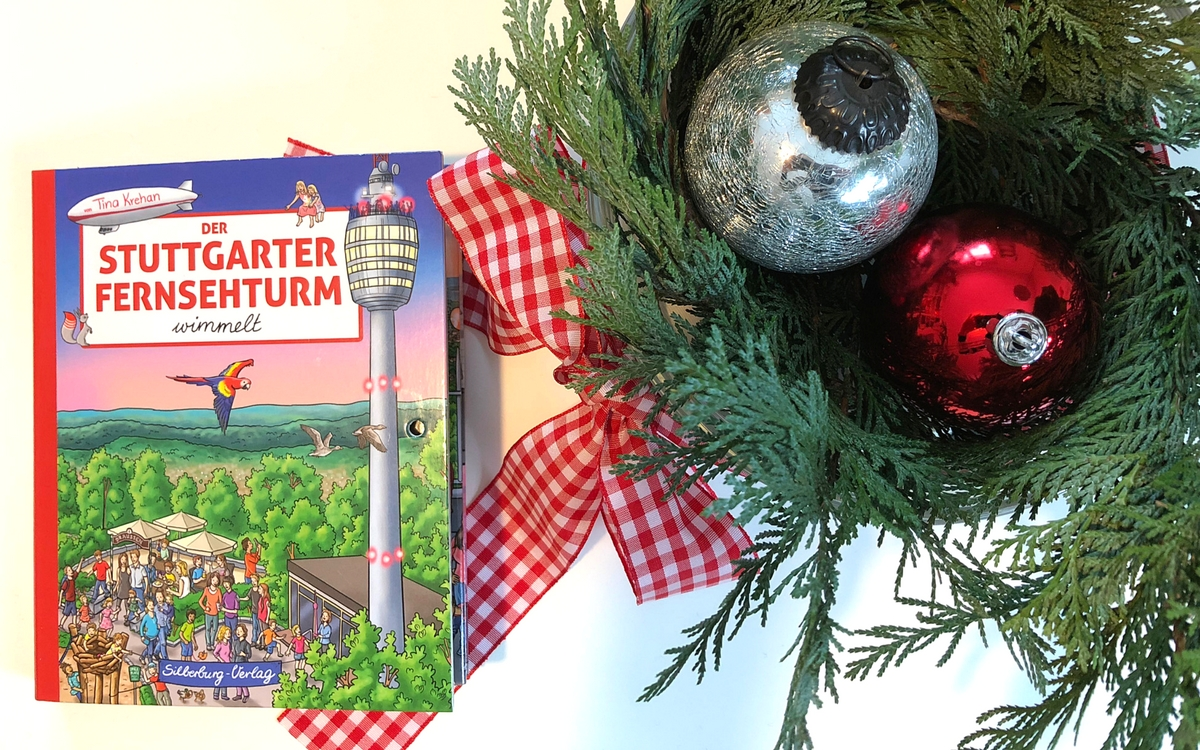 New picture book about the Televisoin tower in Stuttgart