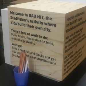 City Lab for kids at Stadtpalais Stuttgart