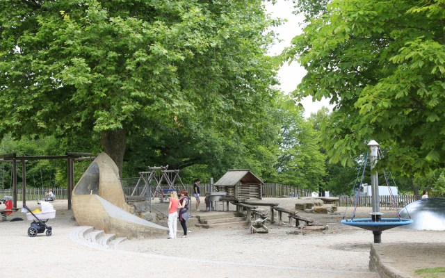 Playground at Höhenpark Killesberg