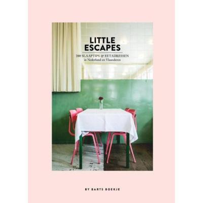 boek little-escapes by barts boekje stylisch