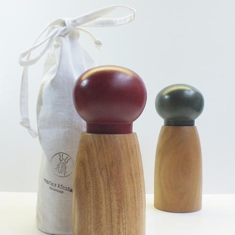 pepermolen van houtlokaal