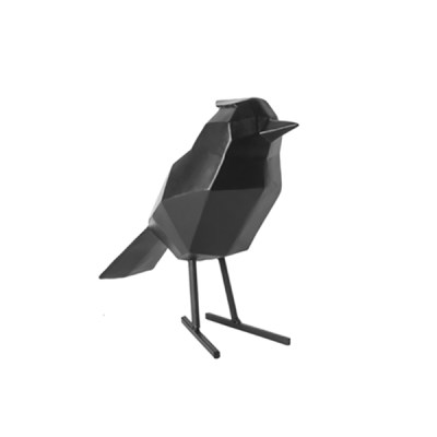 Present Time vogel zwart