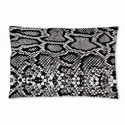 KMCT-Collection-buitenkussen-Snake-black-60x40cm-voorzijde