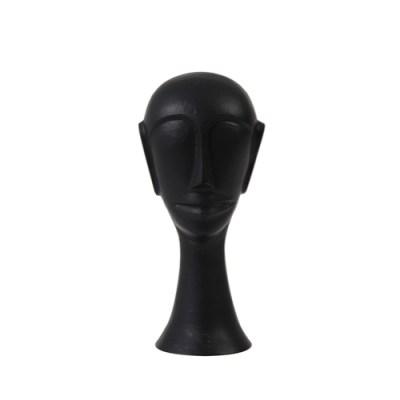 Ornament hoofd zwart