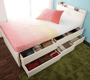 収納付きベッド2