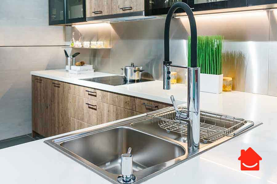 how to get rid of kitchen sink smells