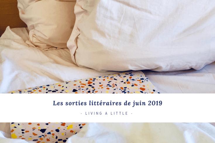 Les sorties littéraires de juin 2019