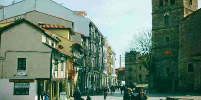 Square in Avilés