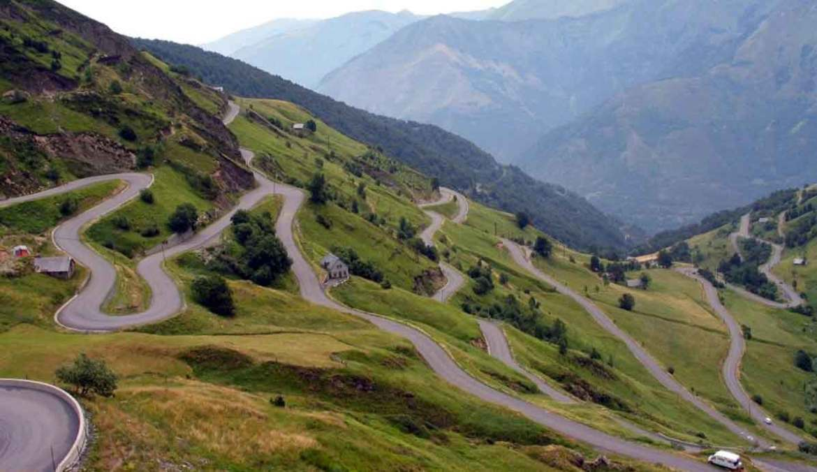 Angliru, cycling destination in Asturias, Spain