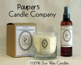 Learn more at www.pauperscandles.com