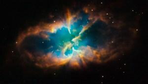 Planetary Nebula NGC 2818, Hubble Space Telescope