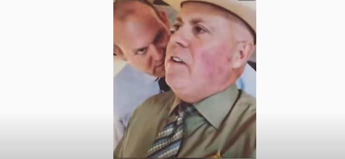 Michael Burgess At Secessionists Meeting With 3%ers – Sheriff Went Wild