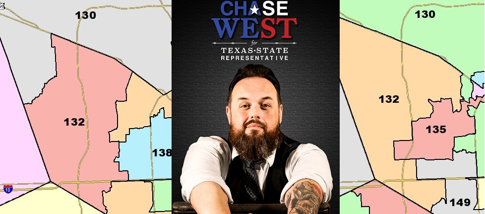 Chase West, Candidate For The Texas House, On Redistricting