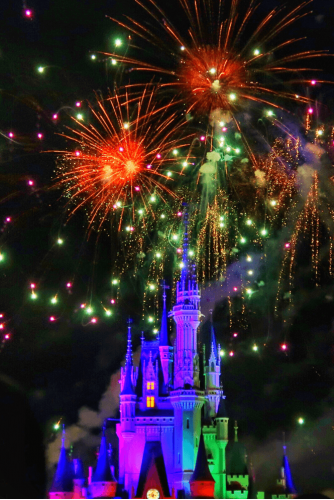 Wishes Fireworks Show at Magic Kingdom