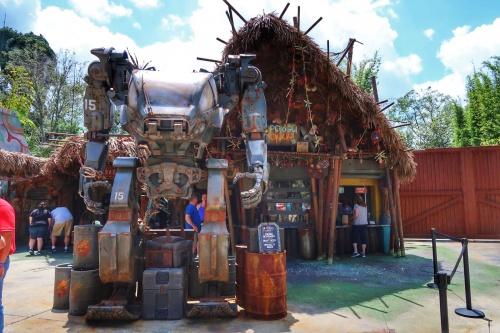 Pongu Pongu Pandora World of Avatar at Disney's Animal Kingdom