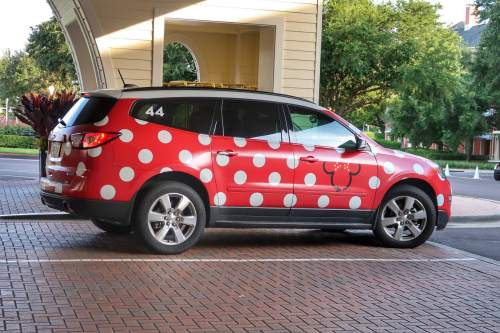 Review: Minnie Vans are Disney World\'s own Taxi Service - Living By ...