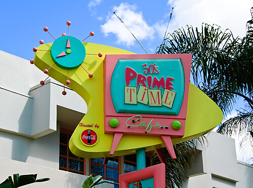 Prime Time cafe Best Restaurants in Disney World