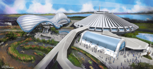 Tron will be next to Space Mountain in Tomorrowland