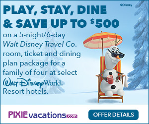 Pixie vacations travel offer