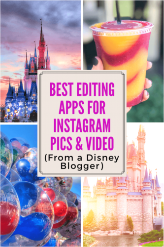 Apps for editing photos and videos for Instagram